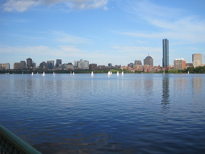 Boston Skyline from Cambridge, June 2009