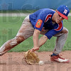 Got it: Wayne Newton's #3, Jacob Hayes fields a ball during game action against Lafayette Pate Sunday afternoon.