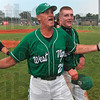 He doesn't care, he's going to state: West Vigo baseball coach Steve Degroote says he doesn't care to be drenched with the water cooler since he and his team are going to the Class 3A state baseball championship after the Vikings defeated Brebeuf Saturday at the Avon baseball semistate.