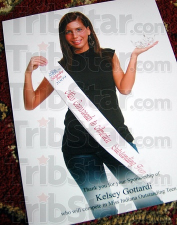 Miss Crossroads: Detail photo of Kelsey Gottardi from her participation in the Miss Indiana Outstanding Teen competition.