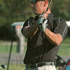 Tribune-Star file photo/Joseph C. Garza<br /> In the lead: The late Travis Smith watches his drive sail down the fairway of the ninth hole Tuesday, April 18, 2006 during the county golf meet at Rea Park.