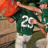 Tribune-Star/Joseph C. Garza<br /> West Vigo baseball player Aaron Welch thought he pulled a fast one on coach Steve DeGroote when he and a teammate were able to soak the sectional championship-winning coach with the contents of a cooler after the Vikings' sectional victory over South Vermillion Monday in West Terre Haute. But, little did Welch know...