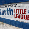 We're here: Signage at the North Terre Haute Little League ball park.