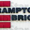 Brampton Brick logo from side of their Sullivan County plant.