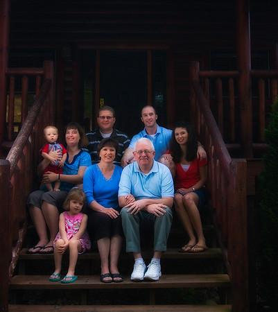 June Visit Home and Gatlinburg