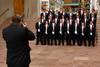 (Denver, Colorado, June 20, 2009)<br /> Young Men of Distinction have their formal photo taken.  Le Bal de Ballet at Boettcher Concert Hall in Denver, Colorado, on Saturday, June 20, 2009.<br /> STEVE PETERSON