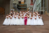 (Denver, Colorado, June 20, 2009)<br /> Debutantes pose for a formal photo.  Le Bal de Ballet at Boettcher Concert Hall in Denver, Colorado, on Saturday, June 20, 2009.<br /> STEVE PETERSON