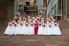 (Denver, Colorado, June 20, 2009)<br /> Debutantes pose for a formal photo.  Le Bal de Ballet at Boettcher Concert Hall in Denver, Colorado, on Saturday, June 20, 2009.<br /> STEVE PETERSON