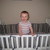 Big boy standing up in his crib!