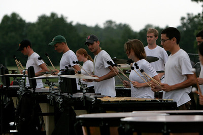 The summer Carolina Crown Camp practices on the campus of Gardner-Webb University; June 05, 2009.
