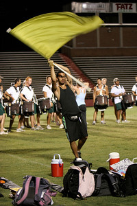 The summer Carolina Crown Camp practices on the campus of Gardner-Webb University; June 05, 2009.