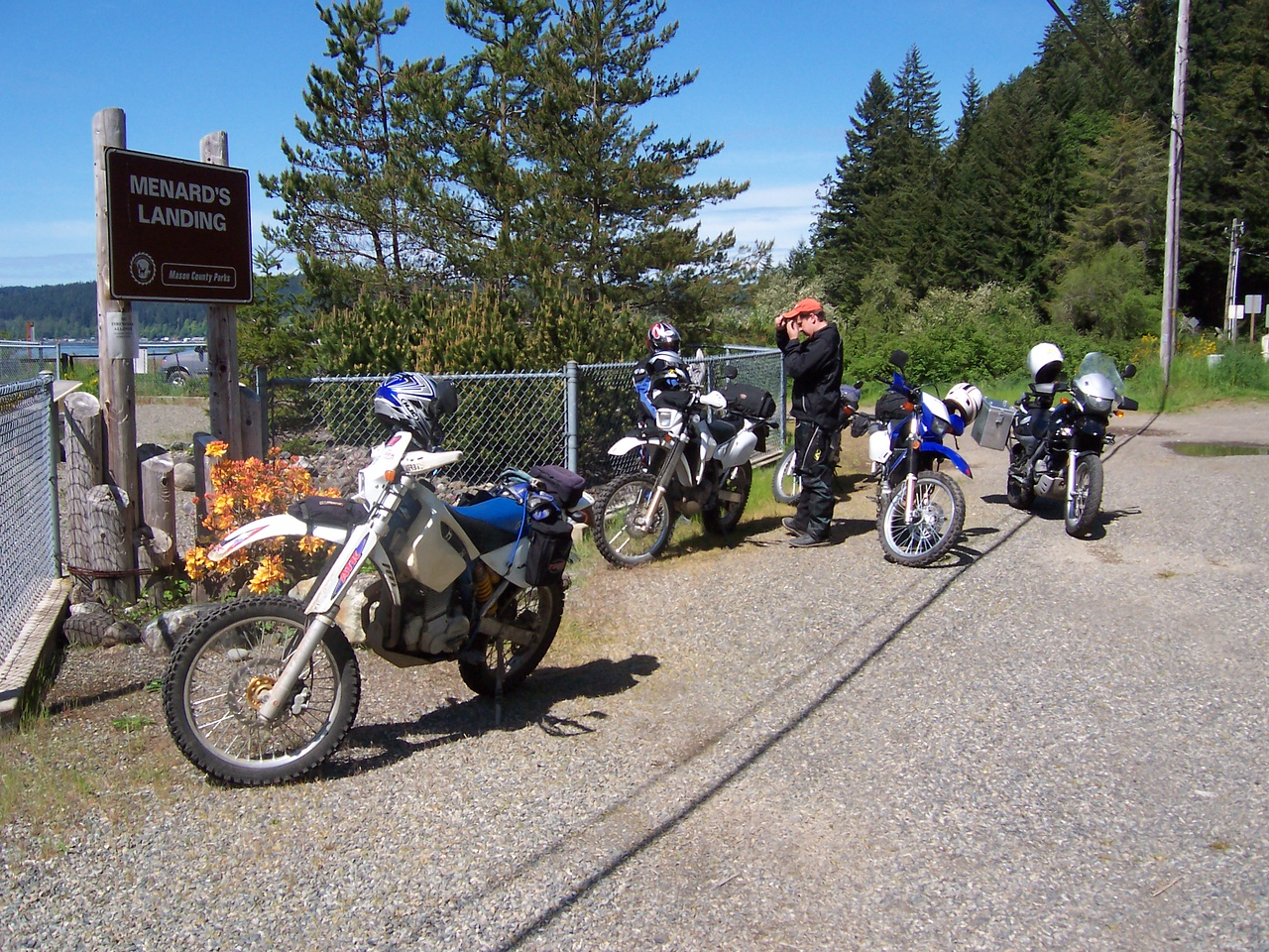 On Hood Canal's Northshore Road beyond Bald Point