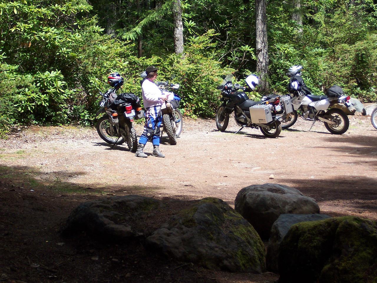 Stop at Lake Aldrich