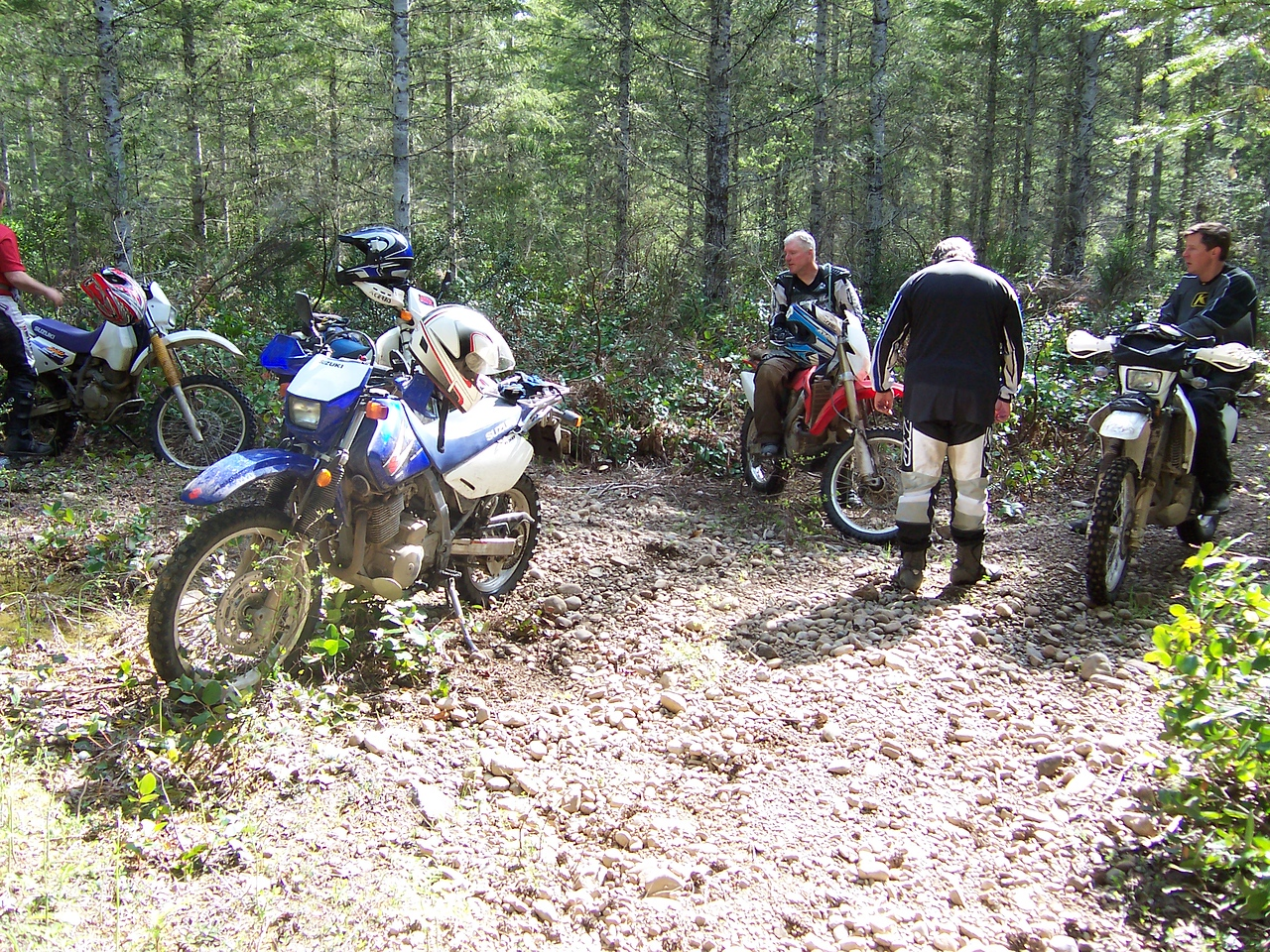 Bill took us on some great trails