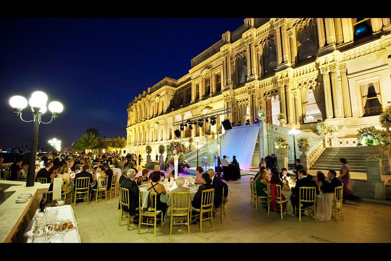 ciragan palace dinner