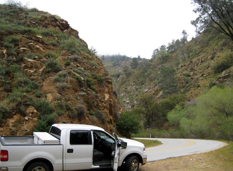 Scene along Caliente Road