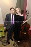 NEW YORK-JULY 21: Kipton Cronkite, Cellist Saeunn Thorsteindottir attend artistic presentation of Cellist Saeunn Thorsteindottir by KiptonART Foundation, Carnegie Hall Notables, & Norwood Club on Tuesday, July 21, 2009 at Norwood Club, 241 West 14th Street, New York, NY 10011 (Photo Credit: ManhattanSociety.com by Gregory Partanio)