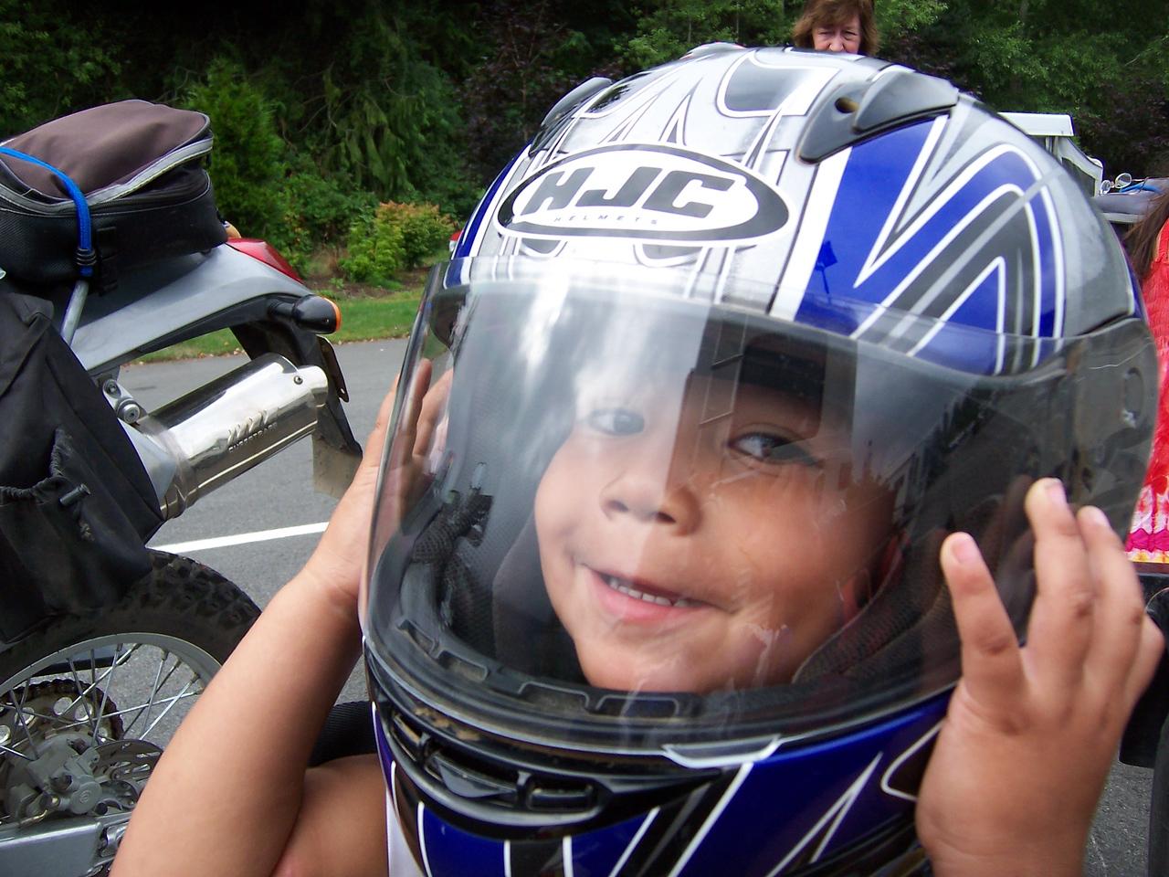 Future Dual Sport rider.