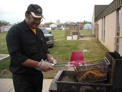 Keith Williams Frying Fish