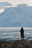 Tracy and the Knik Glacier.