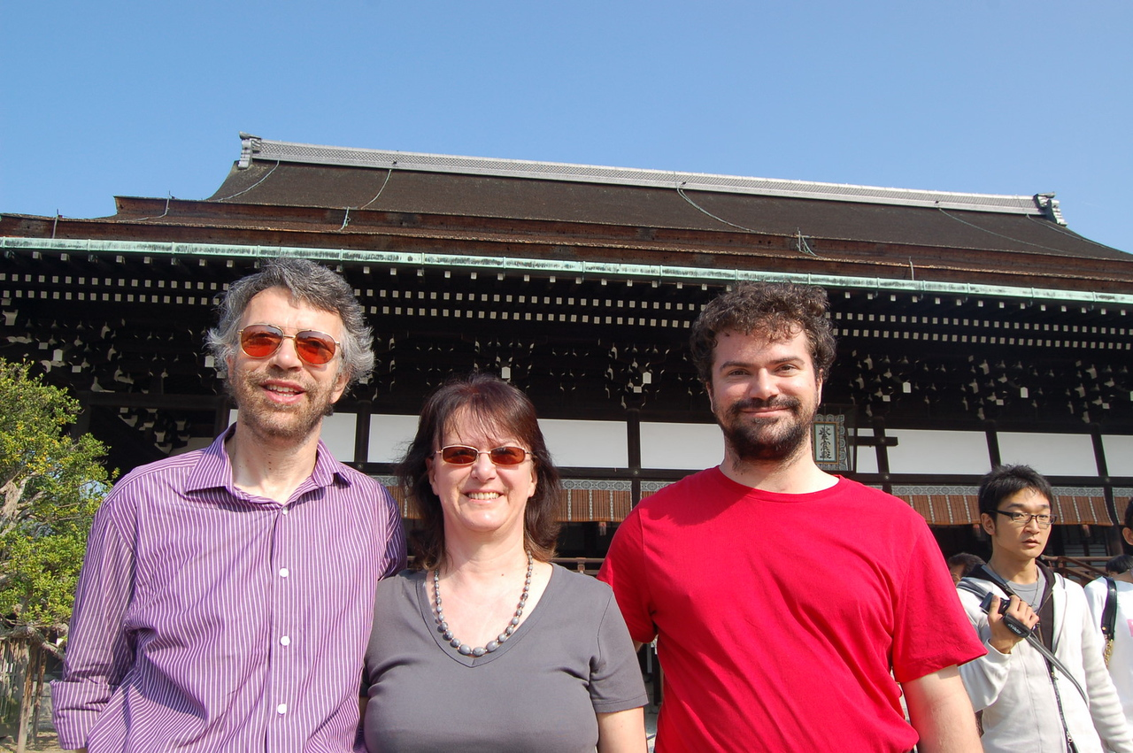 family at imperial palace