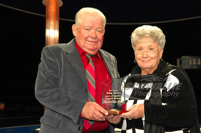 Don & Billie Gibson where the recipients of the Mike Swims Award of Excellence.