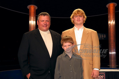 Don O'Neal with his kids Hudson & Houston