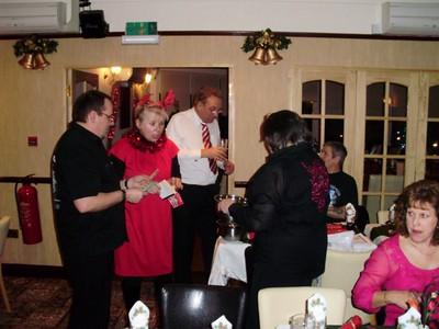 Lodge Xmas Meal 2009
