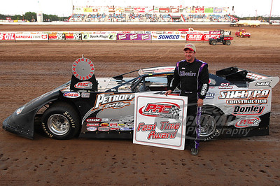 Shannon Babb won the PRC Fast Time Award