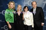 NEW YORK-June 2: Deborah Norville, Lee Woodruff, Susan Zirinsky, Joseph Peyronnin III attend 2009 Building Bridges Gala:An Evening Honoring Lee and Bob Woodruff to Benefit the Mental Health Association of New York City, on Tuesday, June 2, 2009 at Guastavino's, 409 East 59th Street (between First and York Avenues), New York City, NY (Photo Credit: Christopher London/ManhattanSociety.com)