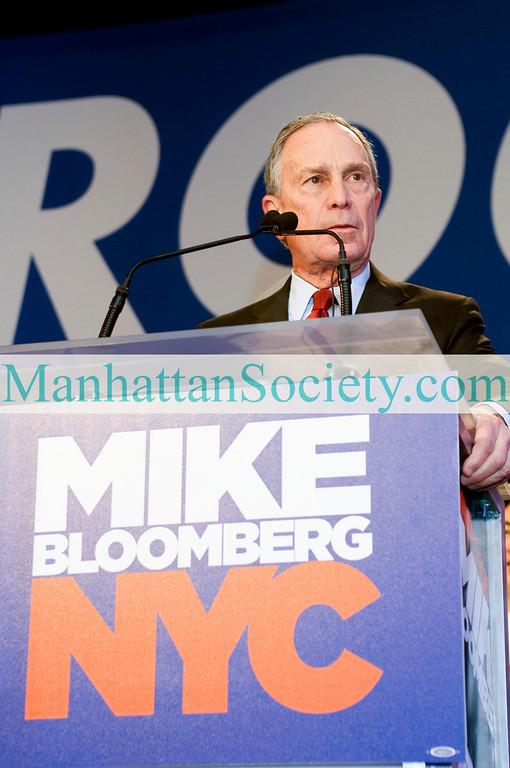 MAYOR MIKE BLOOMBERG's  Election Night 2009 Victory Celebration