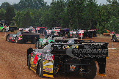 Cars waiting to go out for hotlaps @ Magnolia Motor Speedway