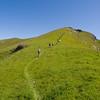 Toward Maguire Peaks