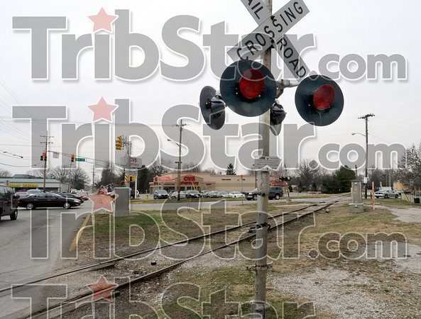 Going: The CSX rail crossing diagonally across 7th street and Margaret street will be removed.