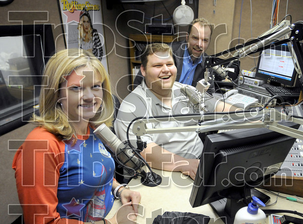 102 Crew: Julie Henricks, Adam Michaels and Doug Edge are radio personalities that will participate in the new format change at the station starting Friday the 13th.