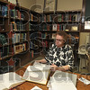 Tribune-Star/Joseph C. Garza<br /> Looking for Adams and Derrs: Barbara Kiser, who lives near Rosedale, researches family history Tuesday in the Rockville Public Library.