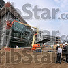 Tribune-Star/Joseph C. Garza<br /> The future of healthcare: Construction work is scheduled to be complete by the end of October on Union Hospital's $185 million expansion/renovation project. The new hospital is scheduled to open in early 2010.