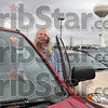 Tribune-Star/Joseph C. Garza<br /> From home to the Land of Lincoln and back: Carla Wehrmeyer drives her 1997 CRV from her home near Prairieton to TRW in Marshall, Ill., frequently.