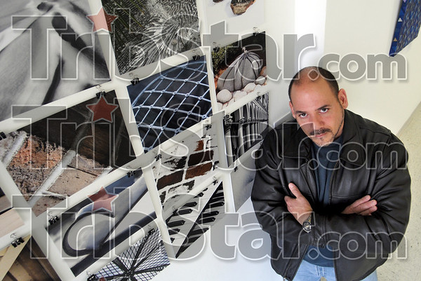 Photographic artist: Rick Baldomero is one of the artists featured in the March exhibit at the Halcyon Contemporary  Art Gallery.