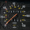 Tribune-Star/Joseph C. Garza<br /> Over 200K: The odometer of Paris, Illinois resident Brian Bridges' 1986 Volvo 240 showed 225,753 on March 2.