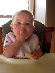 Anna loves bananas!