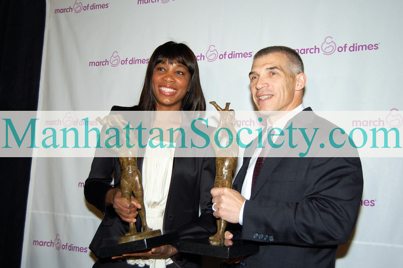 March of Dimes New York Division 26th Annual Sports Luncheon at the Waldorf Astoria