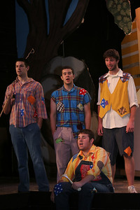 """A Dress Rehearsal of the production """"Lil' Abner,"""" in the Dover Theater; March 26, 2009."""