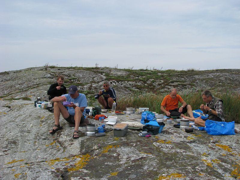 Anders, Kjelle, Hans, Johan och Thomas