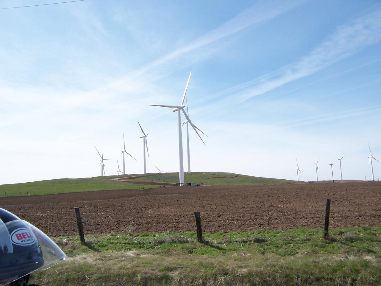 Lots of new windmills