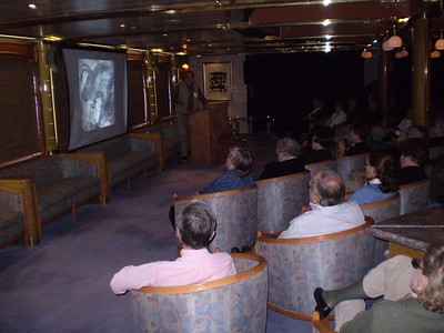 Lecture aboard Island Sky - William Howarth