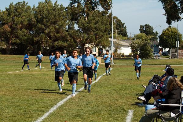 Matthew's AYSO Soccer 2009