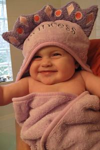 I love bath time!