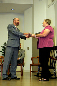 Apples and Accolades award and recognition ceremony; May 1, 2009.