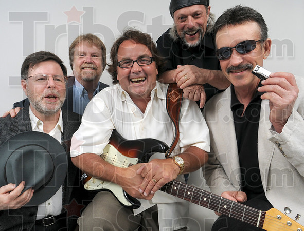 Dicky James and the Blue Flames: Sites and Sounds cover photo.